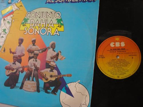 lp vinilo conjunto bahia sonora  al son del mar 1981