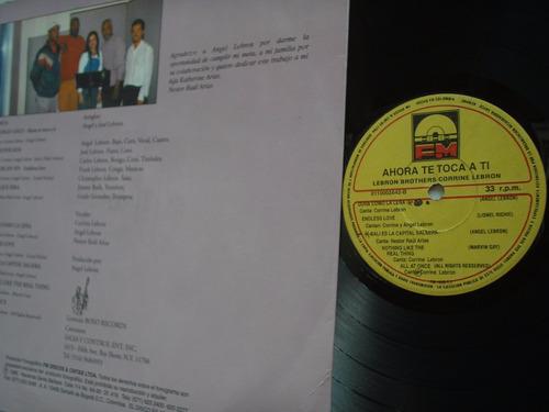lp vinilo corrine lebron brothers ahora te toca a ti 1995