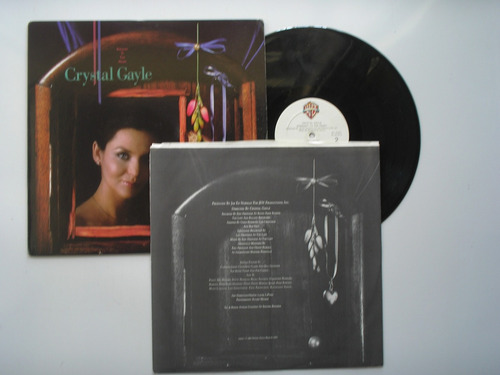 lp vinilo crystal gayle straight to the heart print usa 1986