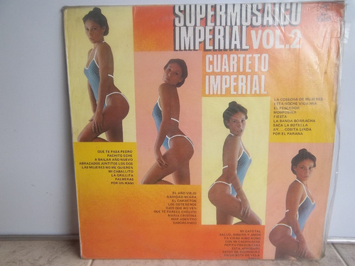 lp vinilo cuarteto imperial super mosaico imperial vol 2