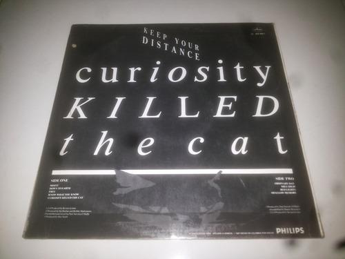 lp vinilo curiosity killed the cat keep your distance