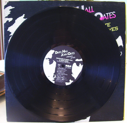 lp vinilo daryl hall,  john oates private eyes rock 1981