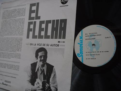 lp vinilo david sanchez juliao el flecha 1977