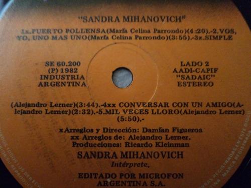 lp vinilo de sandra mihanovich