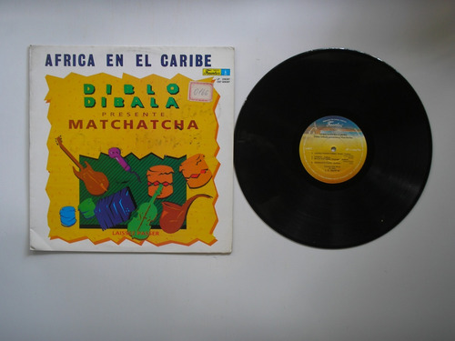 lp vinilo diblo dibala presente matchatcha africa colom1992