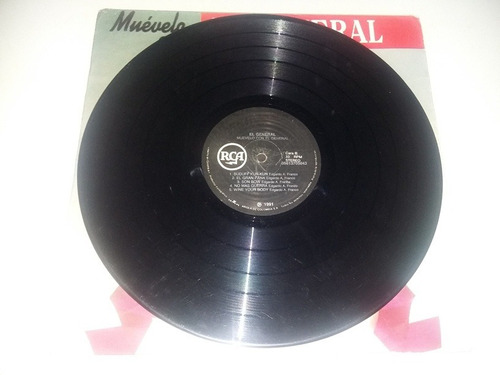 lp vinilo disco acetato el general muevelo con el general