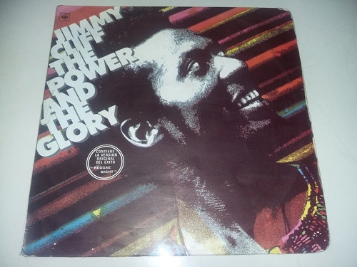 lp vinilo disco acetato jimmy cliff the power and the glory
