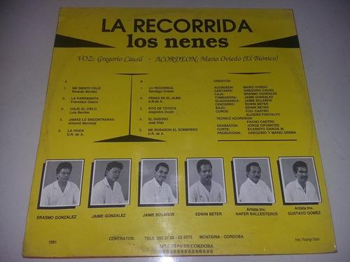 lp vinilo disco acetato los nenes vallenato cumbia