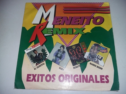 lp vinilo disco acetato meneito remix nando boom el general