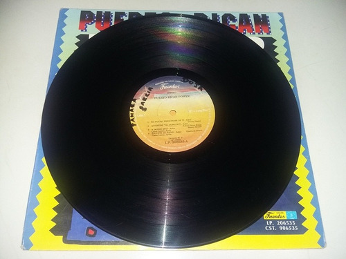 lp vinilo disco acetato  puerto rican power exitos salsa