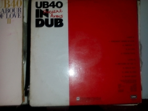 lp, vinilo, disco, acetato ub40 coleccion
