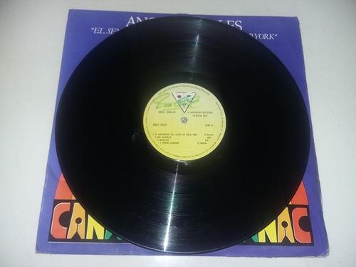 lp vinilo disco acetato vinyl angel canales salsa