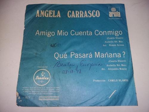 lp vinilo disco acetato vinyl angela carrasco