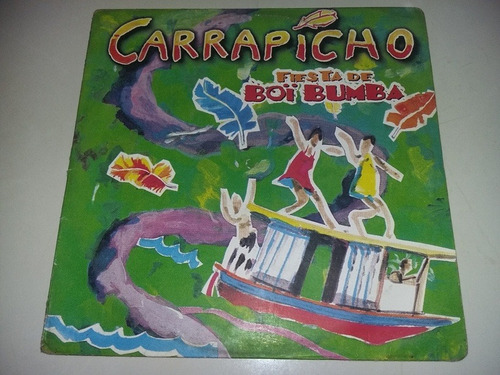 lp vinilo disco acetato vinyl carrapicho festa do boi bumba