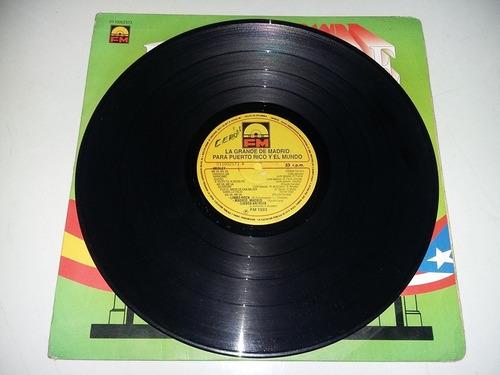 lp vinilo disco acetato vinyl la grande de madrid salsa