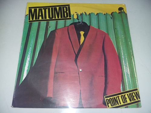 lp vinilo disco acetato vinyl matumbi point of view