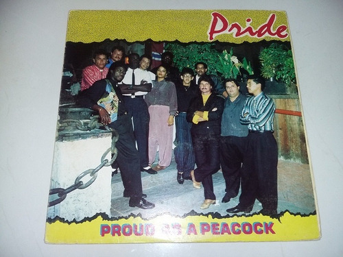 lp vinilo disco acetato vinyl  pride proud as a peacock