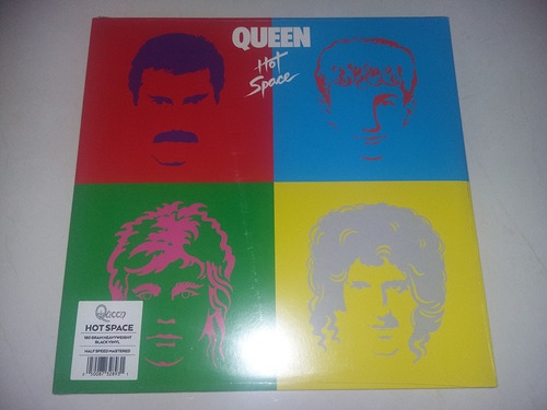 lp vinilo disco acetato vinyl queen hot space