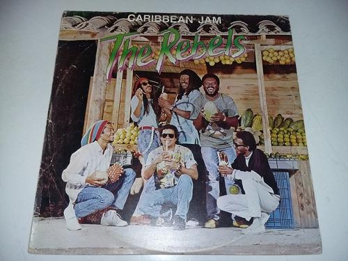 lp vinilo disco acetato vinyl the rebels caribbean jam