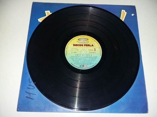 lp vinilo disco acetato vinyl this is soca
