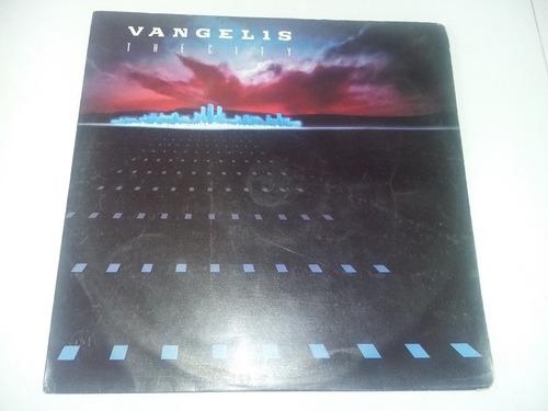 lp vinilo disco acetato vinyl vangelis the city