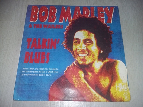 lp vinilo disco bob marley and the wailers talkin' blues