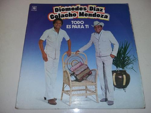 lp vinilo disco diomedes diaz colocho mendoza vallenato