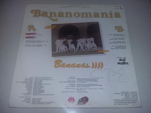 lp vinilo disco grupo bananas bananomania merengue cumbia