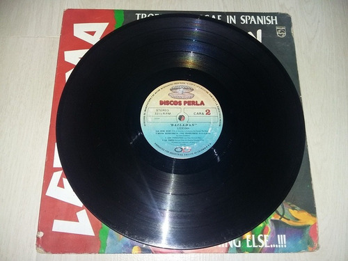 lp vinilo disco ledesma bailadan tropical reggae in spanish