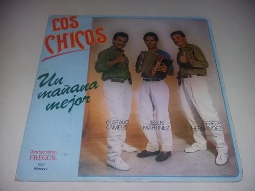 lp vinilo disco los chicos una mañana mejor vallenato cumbia