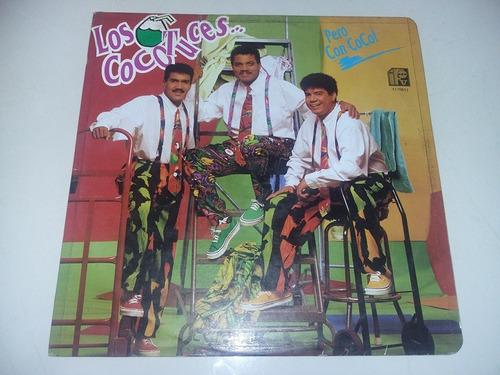 lp vinilo disco los cocotuces pero con coco merengue cumbia
