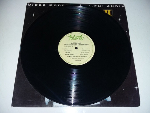 lp vinilo disco ocarina 2  diego modena jean philippe audin