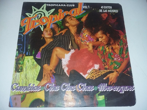 lp vinilo disco tropicana club cumbia cha cha cha merengue
