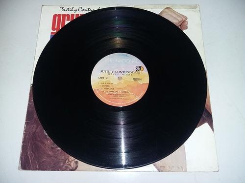 lp vinilo disco vinyl grupo niche sutil y contundente salsa