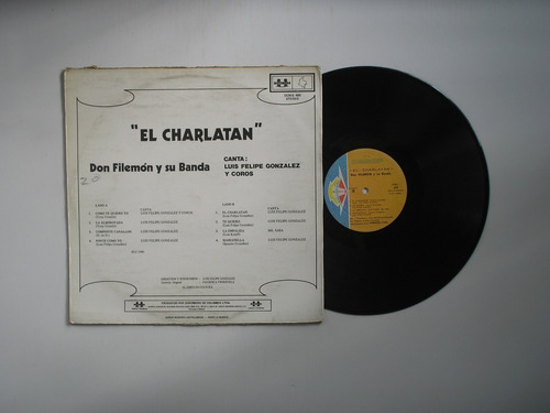 lp vinilo don filemon y su banda el charlatan 1980