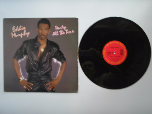 lp vinilo eddie murphy party all the time printed usa 1985