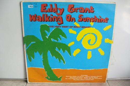 lp vinilo eddy grant walking on sunshine the very best
