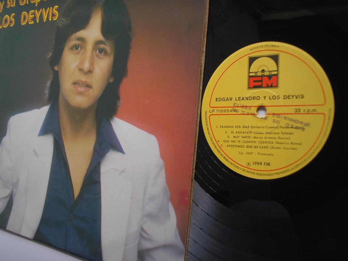 Lp Vinilo Edgar Leandro Y Los Devis Disco Promocional 1984 ...