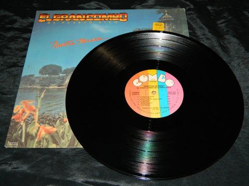 lp vinilo el gran combo de puerto rico nuestra musica ed.usa