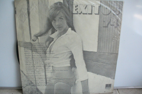 lp vinilo éxitos 74