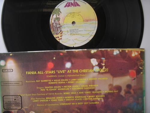 lp vinilo fania alls star live at the cheetah v-2 venezuela