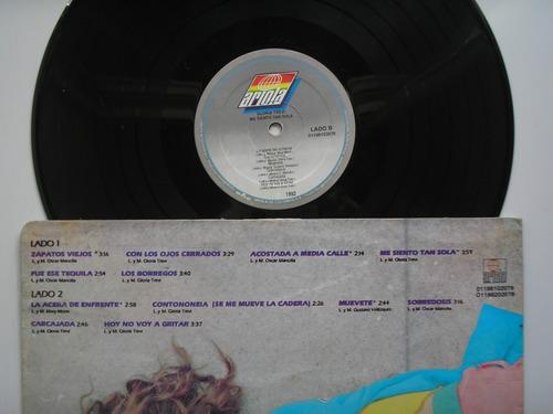 lp vinilo gloria trevi me siento sola edicion colombia 1993