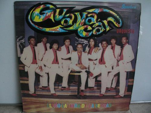lp vinilo guayacan orquesta llego la hora de la verdad
