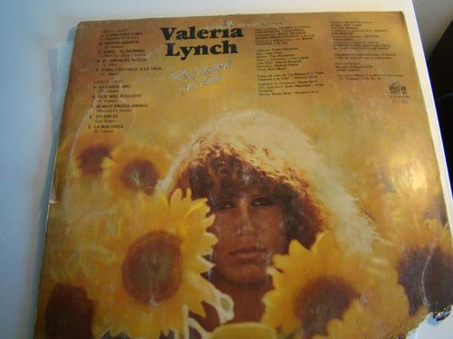 lp vinilo impecable valeria lynch - para cantarle a la vida