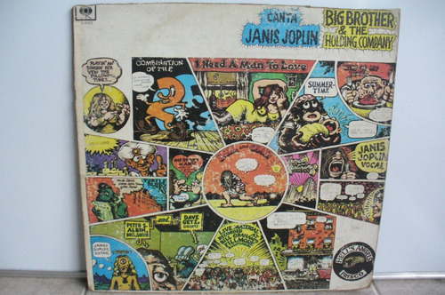 lp vinilo janis joplin y big bhother&the holdingcompany1970