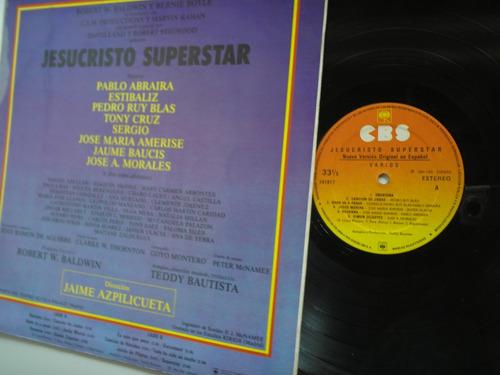lp vinilo jesucristo superstar varios edicion colombia 1984