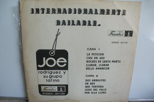 lp vinilo joe rodriguez & grupo latino internacio.bailable