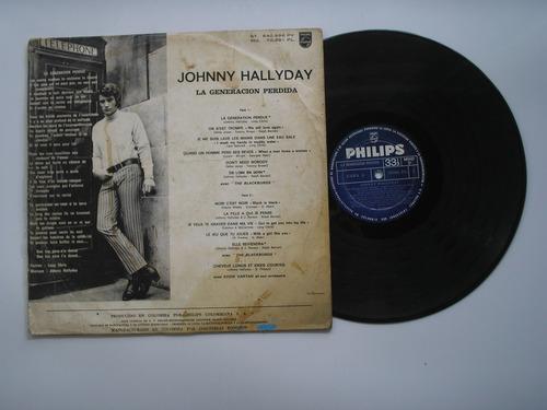 lp vinilo johnny hallyday la generacion perdida monofonico