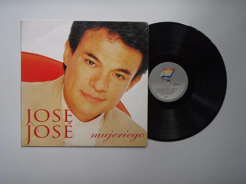 lp vinilo jose jose mujeriego edición colombia 1995
