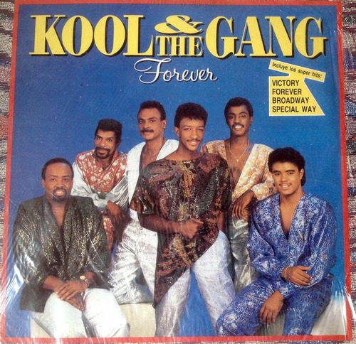 lp vinilo kool & the gang - forever - ed nacional 1987